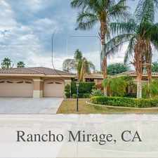 Rental info for Five Beds, Six Baths, Pool, Spa, Library, Casit... in the Rancho Mirage area