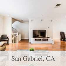 Rental info for Furnished And Ready To Move In! in the San Gabriel area