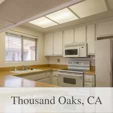 Rental info for Great End Of Cul De Sac Location. in the Thousand Oaks area