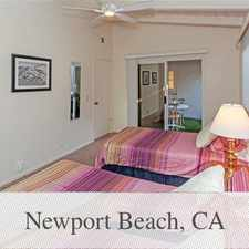 Rental info for Save Money With Your New Home - Newport Beach in the Newport Beach area