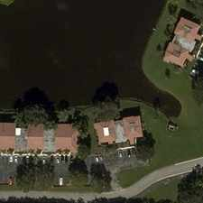 Rental info for STUNNING Water Views. Washer/Dryer Hookups! in the Palm Beach Gardens area