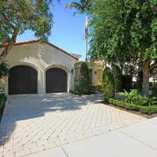 Rental info for The Perfect To Spend The Winter! in the Palm Beach Gardens area