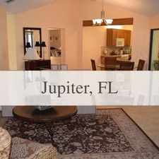 Rental info for The Property Is Beautifully Decorated And Is Co... in the Jupiter area