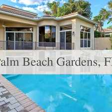 Rental info for Palm Beach Gardens - Tranquil Water Views From ... in the Palm Beach Gardens area