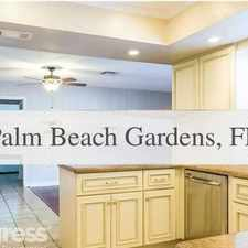 Rental info for 4 Bed, 3 Bath, Safe Neighborhood. Will Consider! in the Palm Beach Gardens area