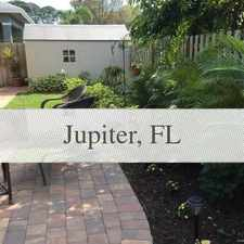 Rental info for Tucked Behind The New Cinquez Park On Quiet Dea... in the Jupiter area