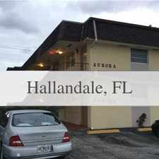 Rental info for Hallandale 1 Bedroom - In A Great Area. Parking... in the Hollywood area