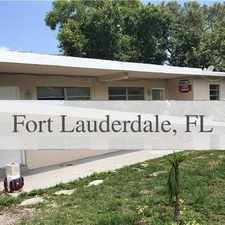 Rental info for House For Rent In Fort Lauderdale. Parking Avai... in the Fort Lauderdale area
