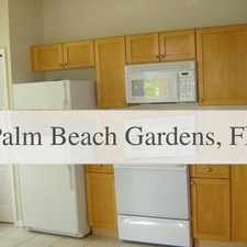 Rental info for Super Cute! Apartment For Rent. Washer/Dryer Ho... in the Palm Beach Gardens area