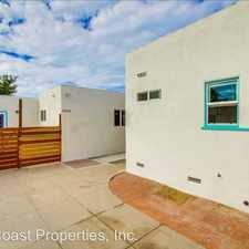 Rental info for 4744-4746 Choctaw St. in the San Diego area
