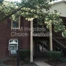 Rental info for 2/2 Condo in Bellevue with a great location! in the Nashville-Davidson area