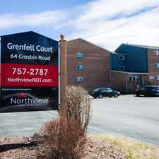 Rental info for Grenfell Court in the St. John's area