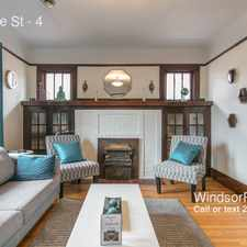 Rental info for 1090 Erie St in the Windsor area