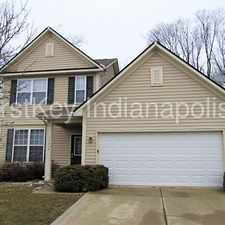 Rental info for 11436 Long Lake Drive Indianapolis IN 46235 in the Indianapolis area