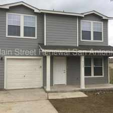Rental info for 8427 Miners Point in the San Antonio area