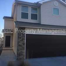 Rental info for Beautiful Town Home located in Staley Area in the Kansas City area