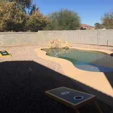 Rental info for 3 Bed 2.5 Bath With POOL And LOFT in the Phoenix area