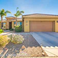 Rental info for 16573 W Almeria Rd