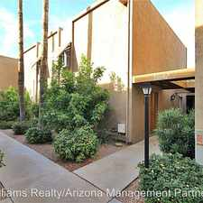 Rental info for 8578 E Indian School Rd, Unit E in the Scottsdale area