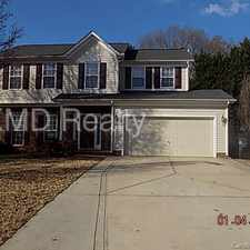 Rental info for Spacious home locate in concord in the Charlotte area