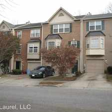 Rental info for 3815 Early Glow Ln in the Bowie area