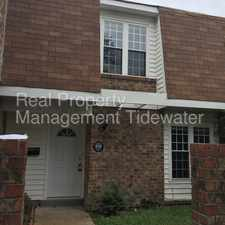 Rental info for GORGEOUS 3 BEDROOM 2.5 BATH IN ARROWHEAD FOR RENT!!! in the Virginia Beach area