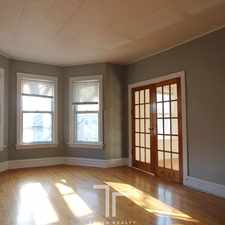 Rental info for 1656 West Olive Avenue in the Chicago area