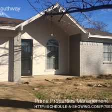 Rental info for 228 Southway in the Fort Worth area