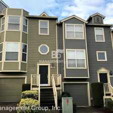 Rental info for 11965 SW Sagehen Street in the Beaverton area
