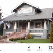 Rental info for 935 N. Emerson Street Unit A in the Portland area