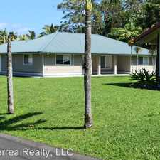 Rental info for 210 E Palai St in the Hilo area
