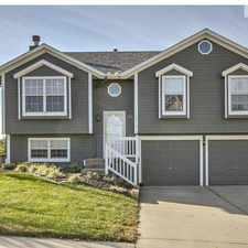 Rental info for 1677 Cardinal Drive in the Kansas City area