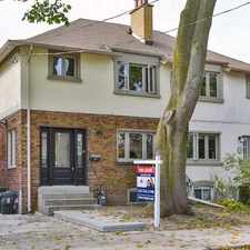 Rental info for 36 Ingham Avenue in the North Riverdale area
