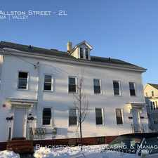 Rental info for 184 Allston Street in the Providence area