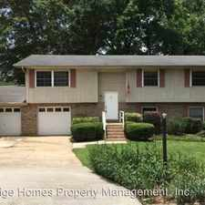 Rental info for 401 Choctaw Road