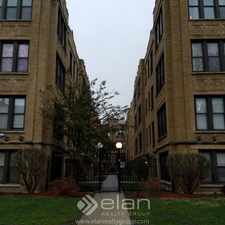 Rental info for 1020 E HYDE PARK 1020-B in the Bronzeville area