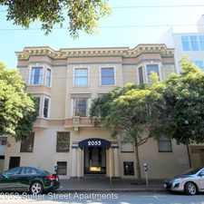 Rental info for 2053 Sutter Street #103 in the San Francisco area
