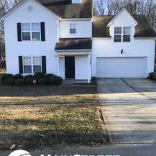 Rental info for 1519 Clooney Lane in the Charlotte area