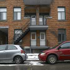 Rental info for Ave Coloniale & Ave des Pins E in the Ville-Marie area