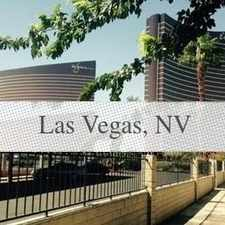 Rental info for Outstanding Opportunity To Live At The Las Vega... in the Paradise area