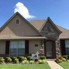 Rental info for 3110 SW Hillstone Ave in the Bentonville area