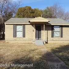 Rental info for 1619 McAdams Ave in the Dallas area