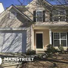 Rental info for 1341 Nadies Court in the Charlotte area