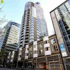 Rental info for 1166 Melville Street #1707 in the West End area