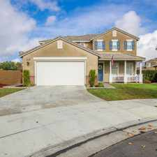 Rental info for Gorgeous Cul-de-sac Home on the Lake in Menifee!