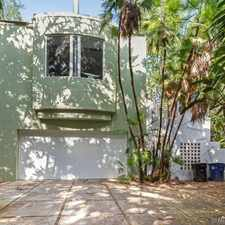 Rental info for COOLEST & MOST UNIQUE HOUSE YOU WILL FIND 4/3+ POOL HOME W/GAR. $4,800 Mo *** SEE REMARKS & PHOTOS*** in the Fort Lauderdale area