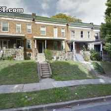 Rental info for $1300 4 bedroom House in Baltimore City Baltimore Northwest in the Baltimore area