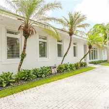 Rental info for For Rent By Owner In Miami in the Northeast Coconut Grove area