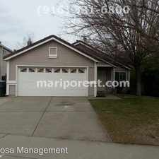 Rental info for 4941 CHELSEA GLEN CT in the 95843 area