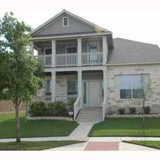 Rental info for 1519 Big Bend Drive in the Cedar Park area